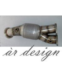 ar design E-series 135i / 335i / 335xi Catted Downpipe (N55, 2011-)