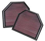 K&N 2011+ M5/M6, 2011+ M3/M4 Air Filters (2 Filters)