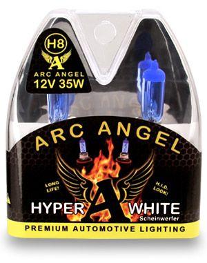 White H8 Angel Eyes Upgrade