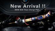 BPE Titanium B58 Charge Pipe Kit