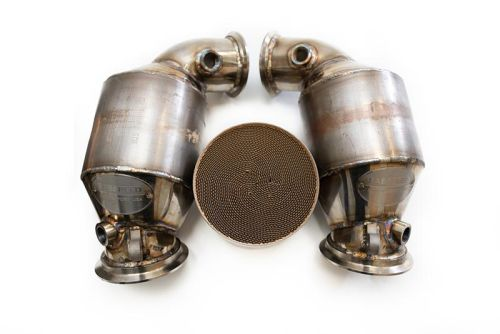 FabSpeed - M5 F90 Primary Sport Catalytic Converter Downpipes