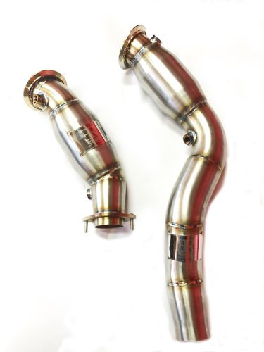 Evolution Racewerks CATTED S55 M3/M4 Downpipes