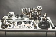DOC Racing - BMW 335I 135I N54 TOP MOUNT SINGLE TURBO KIT (6266)