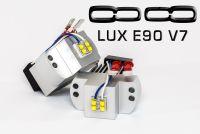 LUX 2005-2008 E90 V7 LED Angel Eyes