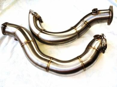"**SUPER VALUE** N54Tuning Line - N54 Catless 3"" Downpipes"