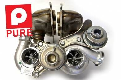 PURE N54 STAGE2 TURBOS - DD 450-600whp