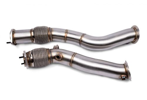 VRSF Stainless Steel Race Downpipes for 2019 – 2022 BMW X3M & X4M S58 F97 F98