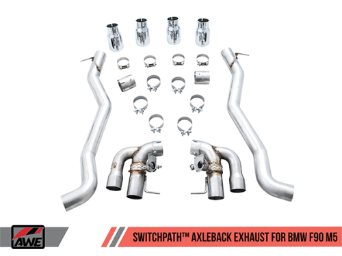AWE SwitchPath™ Axleback Exhaust for BMW F90 M5