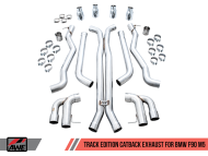 AWE Track Edition Catback Exhaust for BMW F90 M5
