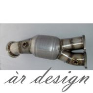 ar design E-series 135i / 335i / 335xi Catted Downpipe (N55, 2011-)