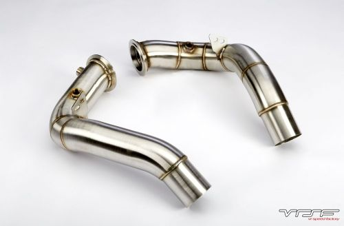 "VRSF 3"" Stainless Steel Catless Downpipes S63 11+ BMW M5 & M6"