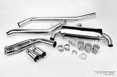 """VRSF 3.5"""" Stainless Steel Street & Race Catback Exhaust 07-13 BMW 335i/335is N54 & N55"""