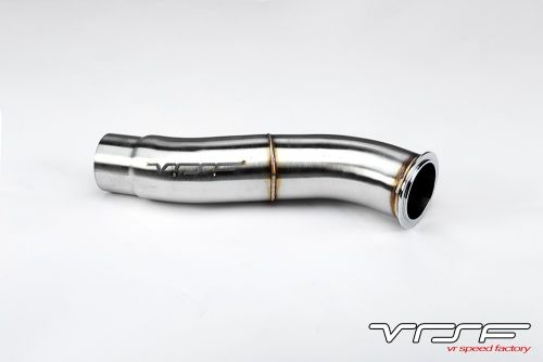 VRSF Stainless Steel Catless Downpipe N55 11-18 BMW X3 35i & X4 35i F25/F26