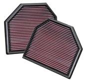 K&N 2011+ M5/M6, 2011+ M3/M4 Air Filters (2 Filters ...