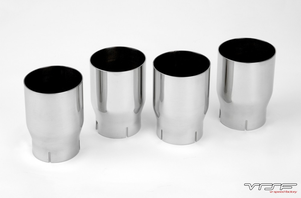 VRSF 90mm Stainless Steel Exhaust Tips 15+ F87 BMW M2